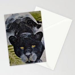 Melanistic Jaguar Stationery Cards