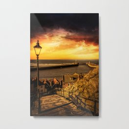 Tourists Rest Metal Print