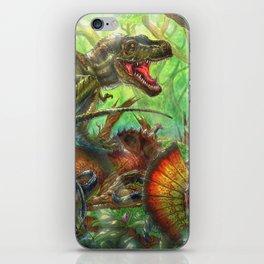 Tyrant Lizard King iPhone Skin