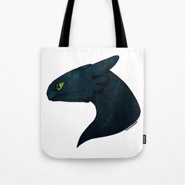 Alpha Dragon Tote Bag