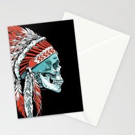 Skull Chief Stationery Cards