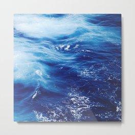 Sea Waters Metal Print