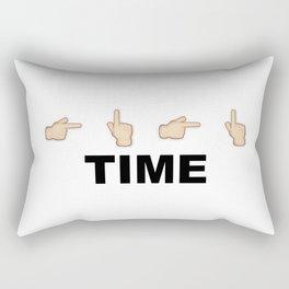 Limiter Time Rectangular Pillow