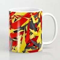 germany Mugs featuring Germany by Danny Ivan