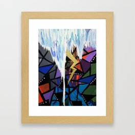 Storm of Emotions Framed Art Print