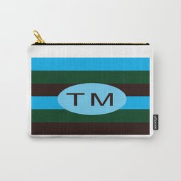 bbnyc trade marked stripes Carry-All Pouch