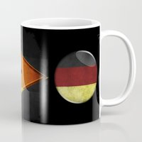 germany Mugs featuring Germany by ilustrarte