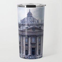 Vintage Color Photo * Kodachrome * St Peter's Basilica * 1950's * Vatican * Rome * Italy Travel Mug