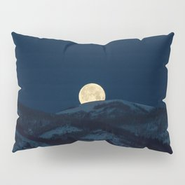 Moonset on the Wasatch Back Pillow Sham