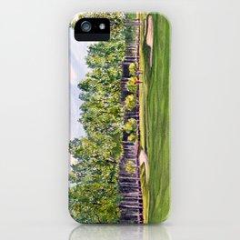 Pinehurst Golf Course No2 Hole 17 iPhone Case