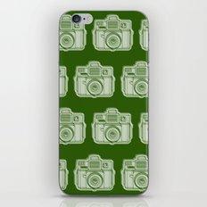I Still Shoot Film Holga Logo - Reversed Green iPhone Skin