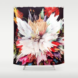 Floral Explosion Shower Curtain