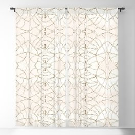 Beaded Pearls Blackout Curtain