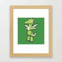 Pokémon - Number 123 Framed Art Print