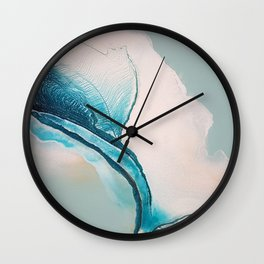 Afternoon Sky Wall Clock