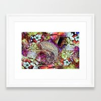 india Framed Art Prints featuring india by ensemble creative