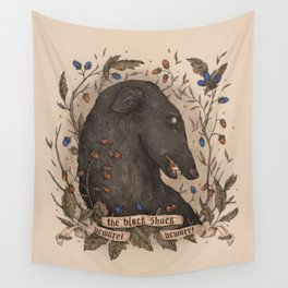 Beware, the Black Shuck Wall Tapestry