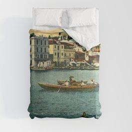 Vintage Golden Horn Constantinople ca 1900  Comforters