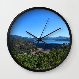 Shasta Lake View Wall Clock