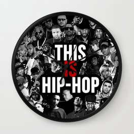 This is Hip Hop Wall Clock