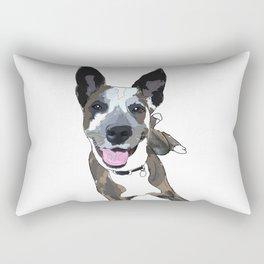 Chelsea Dog Rectangular Pillow