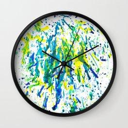 Melted Crayons Wall Clock