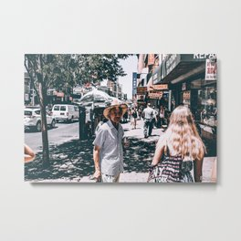 ChinaTown Thoughts Metal Print