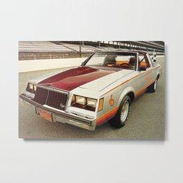 1981 Indianapolis 500 Regal-Grand National Pace car Metal Print