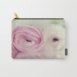 Ranunculus mirrored Carry-All Pouch