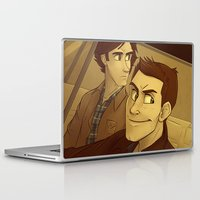 winchester Laptop & iPad Skins featuring Winchester & Sons by The Art of Nicole