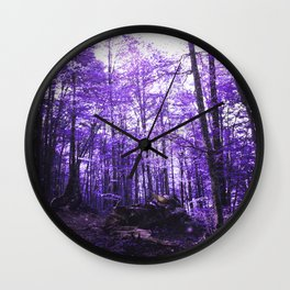 Violet Endless Album - Lonely Tinder Wall Clock