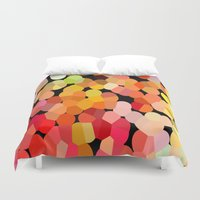 confetti Duvet Covers featuring Confetti by Rosie Brown