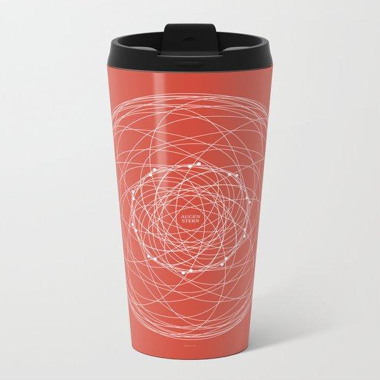 Ornament – Augenstern Metal Travel Mug