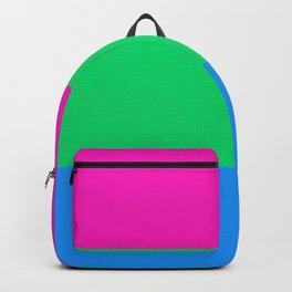Polysexual Pride Flag Backpack