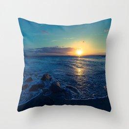 Somerset Coast Throw Pillow