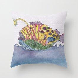 rem fish Throw Pillow
