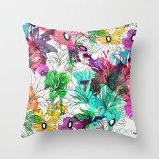 Flowers.. Throw Pillow