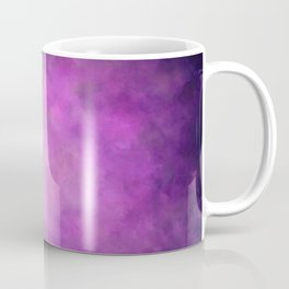 Abstract Soft Watercolor Gradient Ombre Blend 5 Light and Dark Purple Coffee Mug