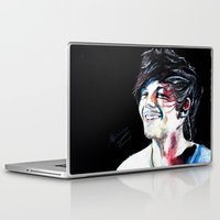 louis tomlinson Laptop & iPad Skins featuring Louis Tomlinson by Mimirainb0w