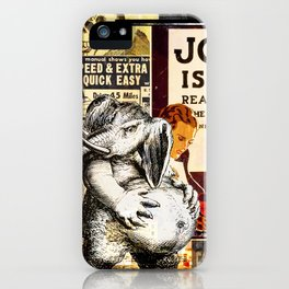 Muffin in the Middle iPhone Case
