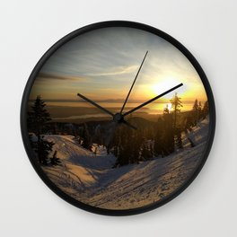 Mount Seymour Wall Clock