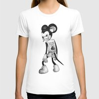 mickey T-shirts featuring Mickey by wa55up