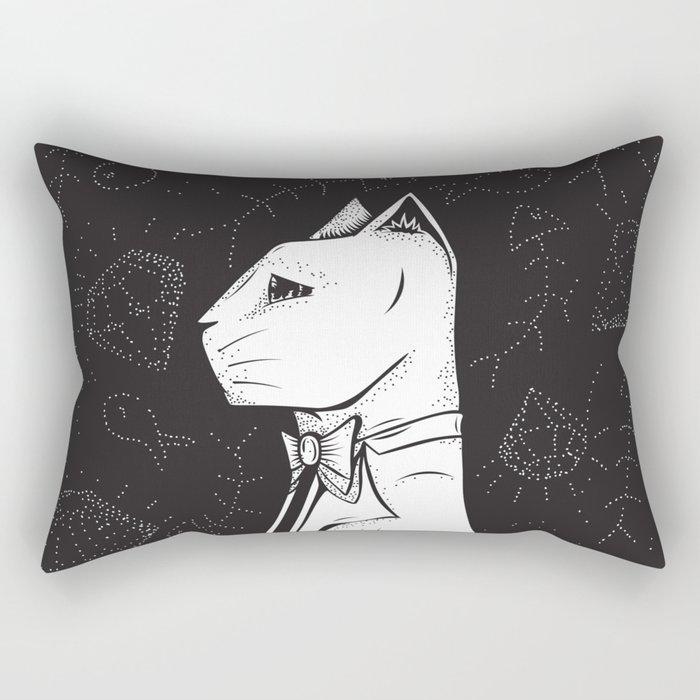 Family Portrait Cat Rectangular Pillow
