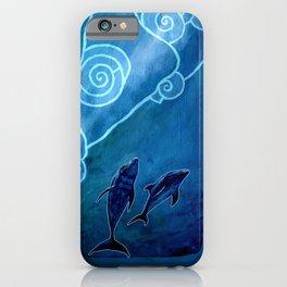 MELUSINA SEA DOLPHINS iPhone Case