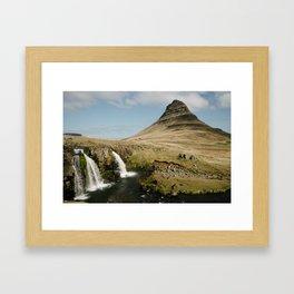 KIRKJUFELL Framed Art Print