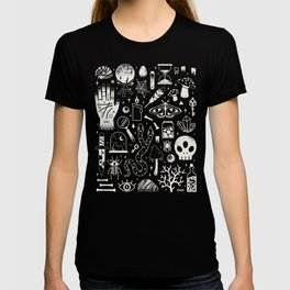 Curiosities: Bone Black T-shirt