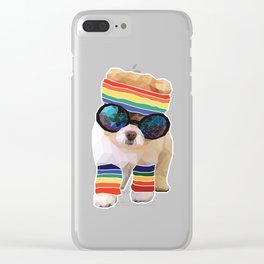 Pom Fabulous Clear iPhone Case