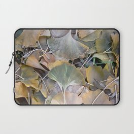 Fall Ginko Leaves Laptop Sleeve