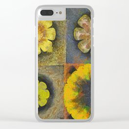 Rancidified Make Flower  ID:16165-054051-44610 Clear iPhone Case