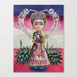 """Frida K."" Canvas Print"